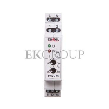 Przekaźnik priorytetowy AC 0,5-5A PPM-05/8 EXT10000110-119448