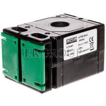 Przekładnik prądowy z okrągłym otworem 45/14 (40) 200A/5A klasa 1 LCTR 4514400200A51-119580