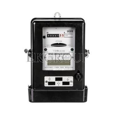 Licznik energii elektrycznej 3-fazowy 4C52adp 1,5/6A 3x220/380V REG./LEG.-119188