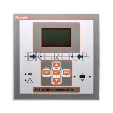 Automatyczny przełącznik sieci zasilanie 100-240V AC obudowa 144x144mm ATL600-119000