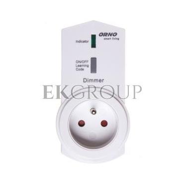 Gniazdo z funkcją ściemniania, sterowane bezprzewodowo smartfonem Smart Living OR-SH-1702-133130