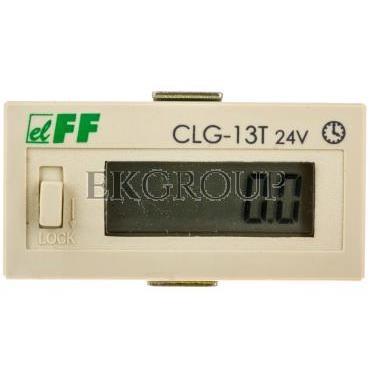 Licznik czasu pracy 4-30V DC 6 znaków cyfrowy tablicowy 48x24mm CLG-13T 24V-119233