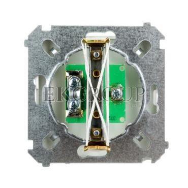Simon Basic Gniazdo antenowe pojedyncze końcowe białe BMAK3.01/11-121463