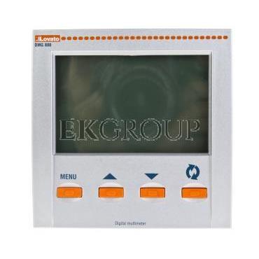Miernik cyfrowy wielofunkcyjny tablicowy LCD 128x80mm analiza harmonicznych 100-440VAC /110-250VDC DMG800L01-119279