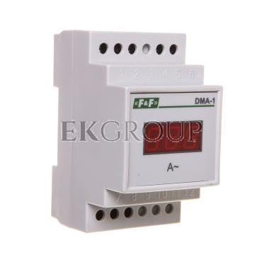 Cyfrowy wskaźnik wartości natężenia prądu jednofazowy 20A 3 moduły DMA-1 True RMS-118813