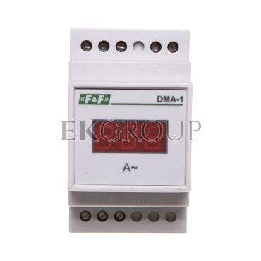 Cyfrowy wskaźnik wartości natężenia prądu jednofazowy 20A 3 moduły DMA-1 True RMS-118814