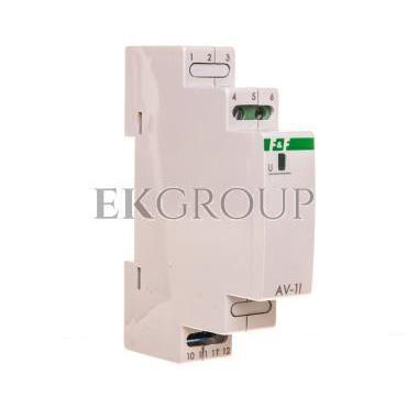 Przetwornik napięciowy 0-282,8V AC/0-400V DC wyjście 4-20mA 9-30V DC AV-1I-119722