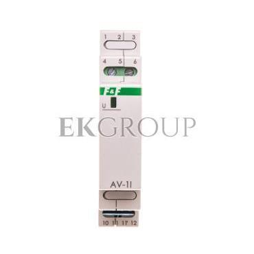 Przetwornik napięciowy 0-282,8V AC/0-400V DC wyjście 4-20mA 9-30V DC AV-1I-119723