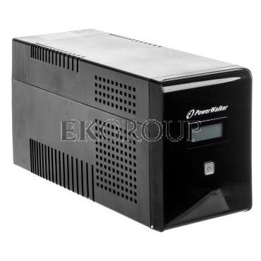 UPS POWER WALKER LINE-INTERACTIVE 1500VA 2x 230V PL   2xIEC OUT, RJ11/RJ45 IN/OUT, USB, LCD VI 1500 LCD-119882
