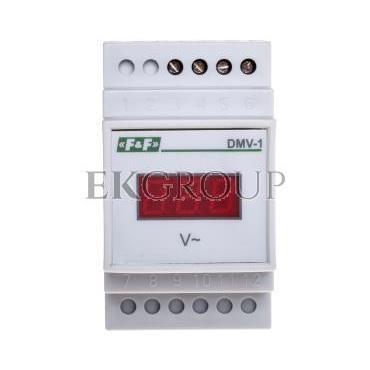 Woltomierz 1-fazowy cyfrowy modułowy 100-300V DMV-1 true RMS DMV1RMS-119801