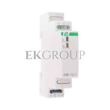 Przetwornik napięcia 0-285V AC 0-400V DC z wyjściem MODBUS RTU MB-1U-1-119726