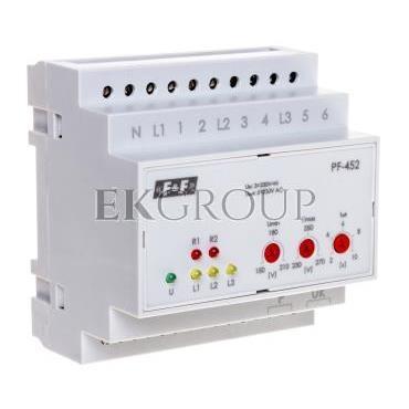 Automatyczny przełącznik faz z wyjściem napięcia fazowego 400V/2x230V N PF-452-118972