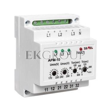 Automatyczny przełącznik faz 16A 230V/3x400V N APM-10 EXT10000202-118974