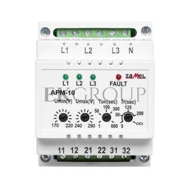 Automatyczny przełącznik faz 16A 230V/3x400V N APM-10 EXT10000202-118975