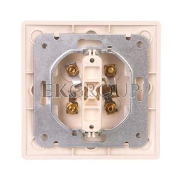 VOLANTE Gniazdo głośnikowe podwójne srebrny 2658-06-129744