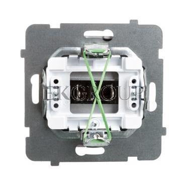 AS Gniazdo głośnikowe pojedyncze srebro GG-1G/m/18-129775