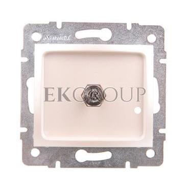 DOMO Gniazdo ekwipotencjalne perłowe białe 011830030 24997-129912