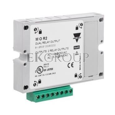 Moduł wyjściowy (impulsowy/alarmowy) 2 wyjścia przekaźnikowe do analizatorów WM20/30/40 MOR2-119402