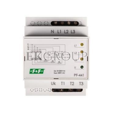 Automatyczny przełącznik faz do współpracy ze stycznikami PF-441-118966