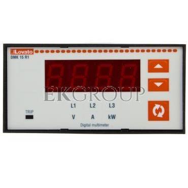 Miernik cyfrowy (woltomierz/amperomierz/watomierz) tablicowy DMK15R1-119275