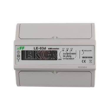 Licznik energii elektrycznej 3-fazowy 100A 230/400V z wyświetlaczem LCD MID LE-03D-119040