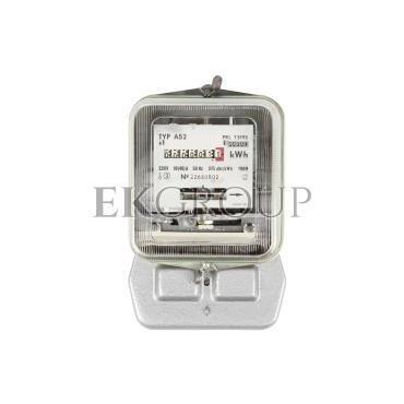 Licznik energii elektrycznej 1-fazowy A52 10/40A 220V REG./WZOR.-119172