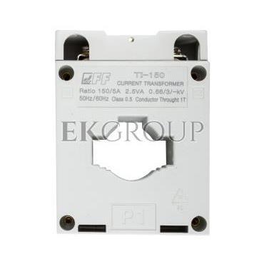 Przekładnik prądowy TI-150/5 2,5VA kl.0,5 na kabel i szynę fi22 30/25/20x10mm-119459