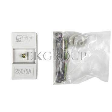 Przekładnik prądowy TI-250/5 5VA kl.0,5 na kabel i szynę fi22 30/25/20x10mm-119461