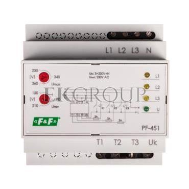 Automatyczny przełącznik faz do współpracy ze stycznikami PF-451-118968