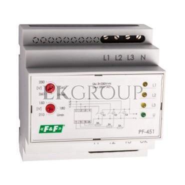 Automatyczny przełącznik faz do współpracy ze stycznikami PF-451-118969