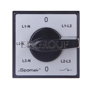 Przełącznik woltomierza 3xL-L i 3xL-N do wbudowania ŁK15-4.883\P03-119788