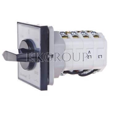 Przełącznik woltomierza 3xL-L i 3xL-N do wbudowania ŁK15-4.883\P03-119789