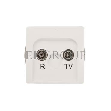 Simon Basic Gniazdo antenowe RD/TV końcowe separowane białe BMZAR1/1.01/11-120203