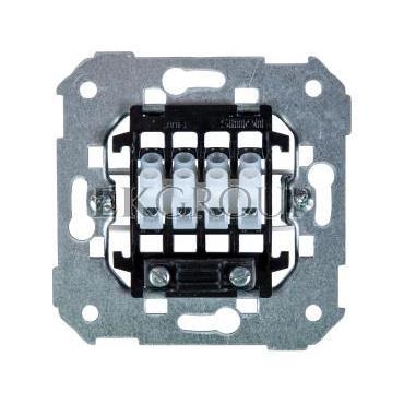 Simon 82 Gniazdo głośnikowe pojedyncze/ podwójne z 4 zaciskami mechanizm 75801-39-133150