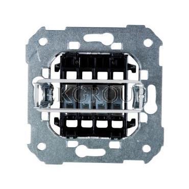 Simon 82 Gniazdo głośnikowe pojedyncze/ podwójne z 4 zaciskami mechanizm 75801-39-133151