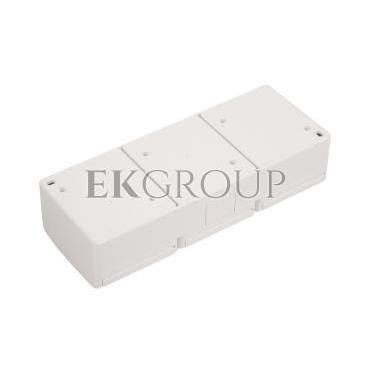 Hermes Gniazdo hermetyczne potrójne z/u 16A IP44 białe GNT 0323-02-123667