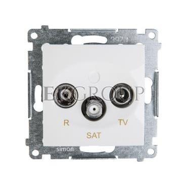 Simon 54 Gniazdo antenowe RD/TV/SAT końcowe białe DASK.01/11-120458