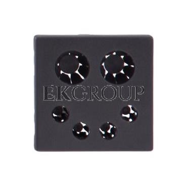 Simon Connect Pokrywa K45 wpustu kabla bezpośrednia szary grafit K20/14-133153