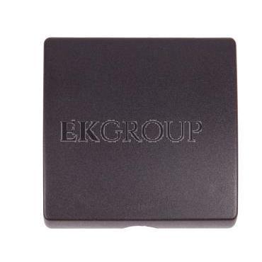 Simon 82 Pokrywa gniazda głośnikowego/ wypustu kablowgo/ łącznika z cięgnem grafit 82051-38-133155