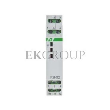 Przetwornik sygnału CIĄGŁY-IMPULS 24V AC/DC 2Z 8A PSI-02 24V-119350