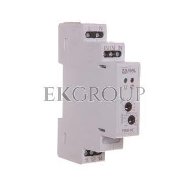 Przekaźnik bistabilny z wyłącznikiem czasowym 230V AC PBM-03 EXT10000065-134204
