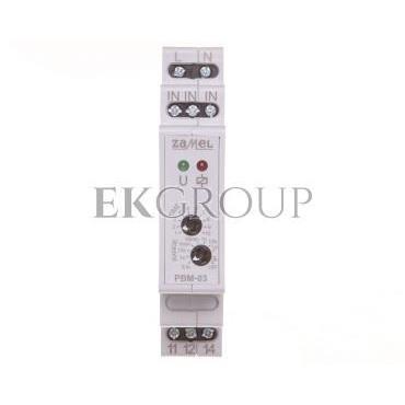 Przekaźnik bistabilny z wyłącznikiem czasowym 230V AC PBM-03 EXT10000065-134205