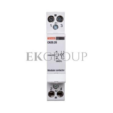 Stycznik modułowy 20A 2Z 0R 24V AC CN2020024-135840