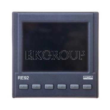 Programowalny regulator dwukanałowy bez wejścia dodatkowego wyjście 1 i 2 2 przekaźniki bez wyjścia analogowego bez Ethernetu be