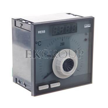 Regulator analogowy nastawa Pt100 0-400st.C regulator PID konfigurowane wyjście przekaźnikowe bez atestu KJ RE55 0531000-134561