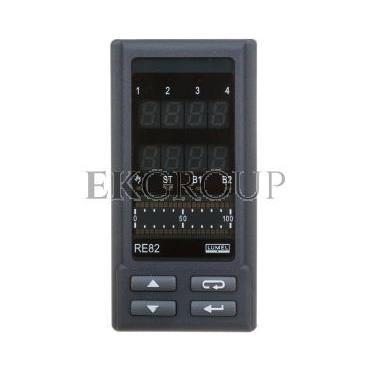 Programowalny regulator temperatury wyjście 1 przekaźnikowe wyjście 2 przekaźnikowe bez wyjścia zasilanie zasilanie 85-253V AC/D