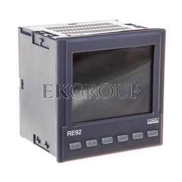 Programowalny regulator dwukanałowy wejście dodatkowe I 0/4-20mA wyjście 1 i 2 2 binarne 0/5V 2 wyjścia 0/4-20mA i 0-10V bez Eth