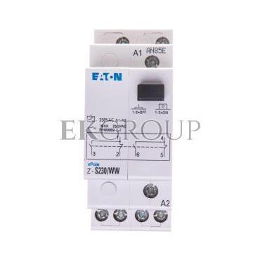 Przekaźnik impulsowy 16A 230V AC 2P Z-S230/WW 265312-134101