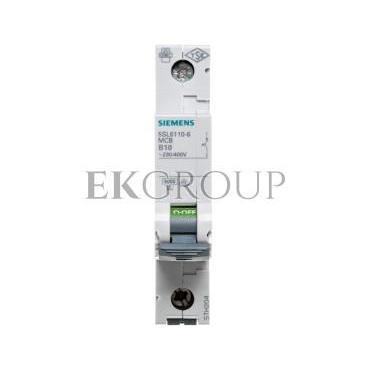 Wyłącznik nadprądowy 1P B 10A 6kA 5SL6110-6-142133