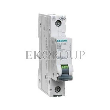 Wyłącznik nadprądowy 1P B 16A 6kA 5SL6116-6-141878